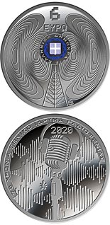 6 euro coin 75 years since the establishment