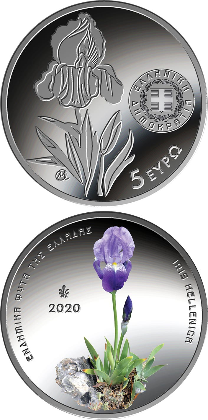 Image of 5 euro coin - Endemic Flora
