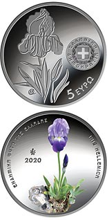 5 euro coin Endemic Flora