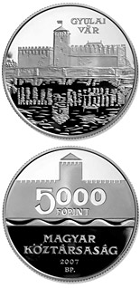 5000 forint Gyula - 2007 - Series: Silver forint coins - Hungary
