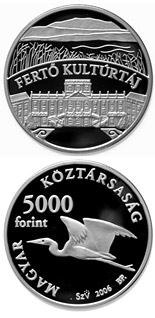 5000 forint Fertő Cultural Landscape - 2006 - Series: Silver forint coins - Hungary
