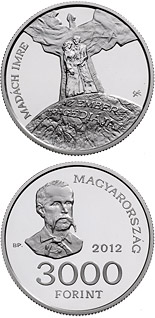 3000 forint coin 150th Anniversary of the Issue of Imre Madách: The Tragedy of Man | Hungary 2012
