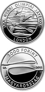 3000 forint XXX. Summer Olympic Games - 2012 - Series: Silver forint coins - Hungary