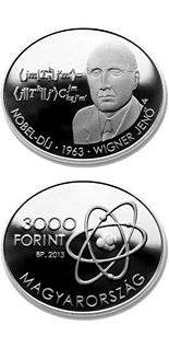3000 forint Eugene Paul Wigner - 2013 - Series: Silver forint coins - Hungary