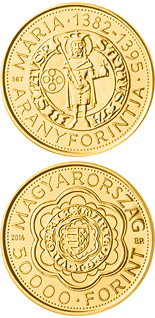 5000 forint coin The Gold Florin of Mary (1382-1395) | Hungary 2014