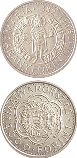 2000 forint coin The Gold Florin of Mary (1382-1395) | Hungary 2014