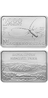 2000 forint coin Danube-Ipoly National Park  | Hungary 2015