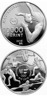 10000 forint coin XXXI. Summer Olympic Games | Hungary 2016