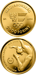 5000 forint coin XXXI. Summer Olympic Games | Hungary 2016