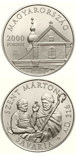 2000 forint coin Saint Martin | Hungary 2016