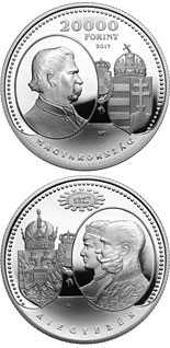 20000 forint coin 150th Anniversary of the Austro-Hungarian Compromise of 1867 | Hungary 2017