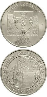 2000 forint coin 650th Anniversary of Foundation of the University of Pécs | Hungary 2017