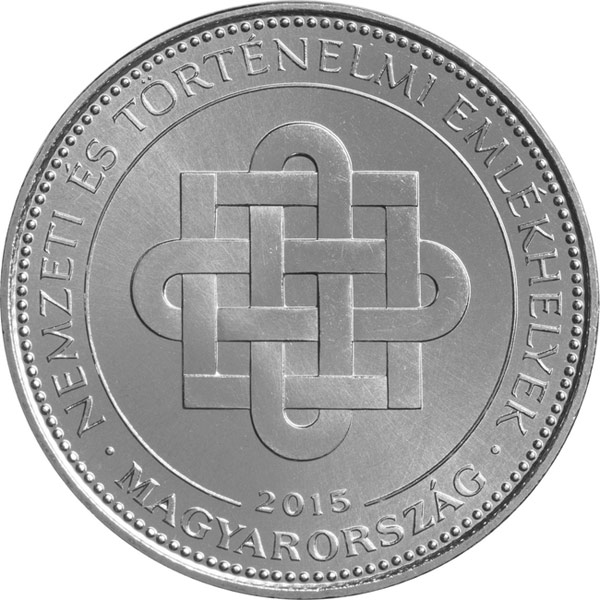 Image of a coin 50 forint | Hungary | Hungary's national and historical memorials | 2015