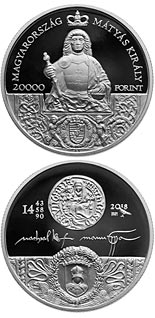 20000 forint coin King Matthias Memorial Year | Hungary 2018