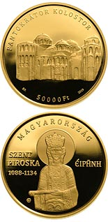 50000 forint coin Irene of Hungary (1088-1134) | Hungary 2019