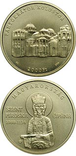2000 forint coin Irene of Hungary (1088-1134) | Hungary 2019