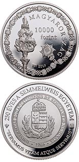 10000 forint coin 250th Anniversary of the Foundation of Semmelweis University | Hungary 2019