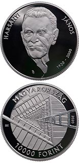 10000 forint coin 100th Anniversary of the Birth of János Harsányi | Hungary 2020