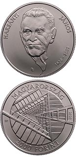 2000 forint coin 100th Anniversary of the Birth of János Harsányi | Hungary 2020