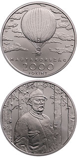 2000 forint coin Double Anniversary of Pál Szinyei Merse | Hungary 2020