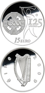15 euro coin 125 Years of the GAA | Ireland 2009