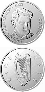 10 euro coin 90th Anniversary of the Death of Michael Collins | Ireland 2012