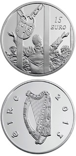 15 euro coin The centenary of the 1913 Dublin Lockout | Ireland 2013