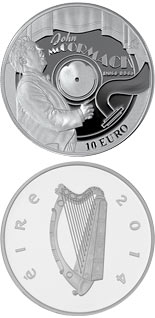 10 crowns Count John McCormack - 2014 - Series: European Silver Programme - Ireland