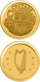 20 euro The Battle of Clontarf  - 2014 - Series: Gold 20 euro coins - Ireland