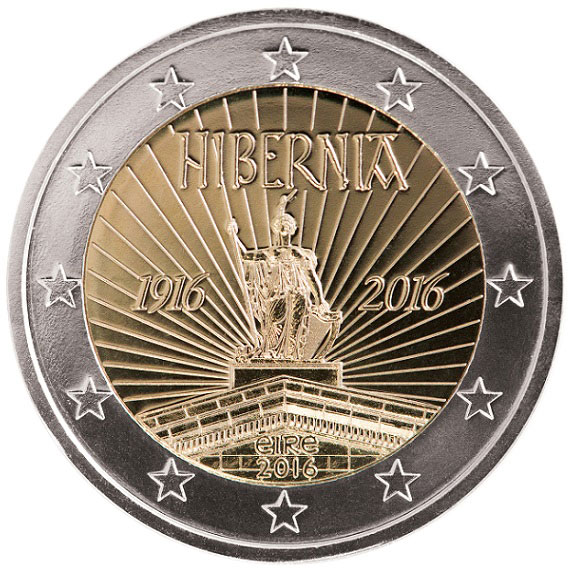 Image of  The Centenary of the 1916 Easter Rising – 2 euro coin Ireland 2016