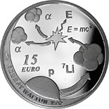 15 euro coin The Nobel Prize in Physics, Ernest Walton | Ireland 2015