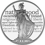 15 euro coin 100th anniversary of the Proclamation of the Irish Republic | Ireland 2016