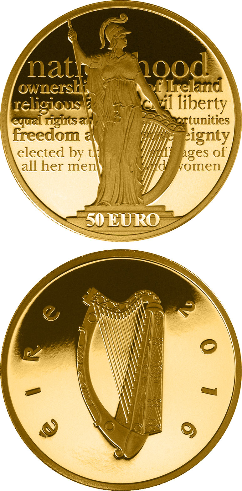 50 euro 100th anniversary of the Proclamation of the Irish Republic - 2016 - Ireland