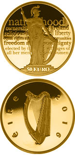 50 euro coin 100th anniversary of the Proclamation of the Irish Republic | Ireland 2016