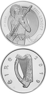 15 euro coin Modern Irish Musicians - Phil Lynott | Ireland 2019