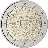 2 euro coin 100th Anniversary of the first sitting of Dáil Éireann | Ireland 2019