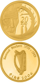 20 euro coin Samuel Beckett Birth 100th Anniversary | Ireland 2006