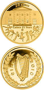 20 euro coin 25th anniversary of Gaisce/The President's Award | Ireland 2010