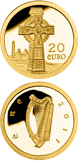 20 euro coin Celtic Cross | Ireland 2011