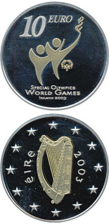 10 euro coin Special Olympics World Summer Games | Ireland 2003