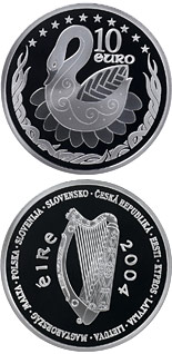 10 euro coin European Union Accession | Ireland 2004
