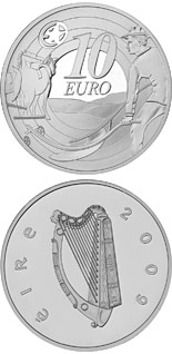 10 euro coin 80th Anniversary of Ploughman´s Banknotes Launch | Ireland 2009