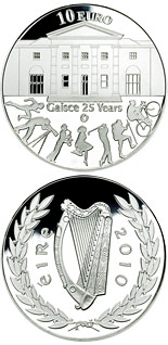 10 euro coin 25th anniversary of Gaisce/The President's Award | Ireland 2010