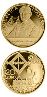 20 euro coin 100 years Nobel prize Guglielmo Marconi | Italy 2009