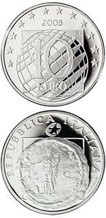 10  60 years Peace and Freedom  - 2005 - Series: European Silver Programme - Italy