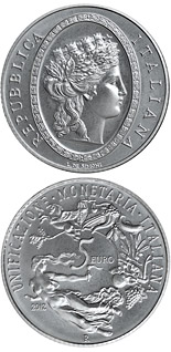 5 euro 150th Anniversary of the Italian Lira - 2012 - Series: Silver 5 euro coins - Italy