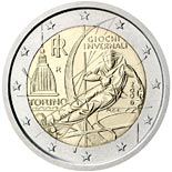 2 euro coin Winter Olympics in Turin 2006 | Italy 2006
