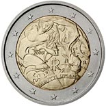2 euro coin 60th Anniversary of the Universal Declaration of Human Rights | Italy 2008
