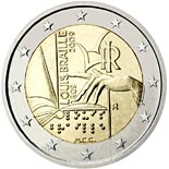 2 euro coin 200th Anniversary of birth of Louis Braille | Italy 2009