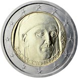 2 euro coin 700th Anniversary of the Birth of Giovanni Boccaccio | Italy 2013